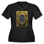 Fremasonry Share It Women's Plus Size V-Neck Dark