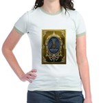 Fremasonry Share It Jr. Ringer T-Shirt