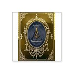 Fremasonry Share It Square Sticker 3