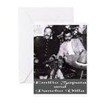 Villa and Zapata Greeting Cards (Pk of 10)