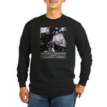 Villa and Zapata Long Sleeve Dark T-Shirt
