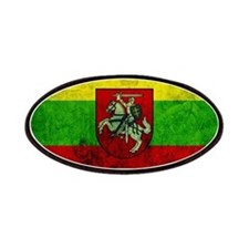 Lithuania Flag Patches