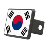 Korean Flag Rectangular Hitch Cover