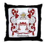 Dobenek Coat of Arms Throw Pillow