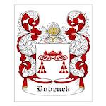 Dobenek Coat of Arms Small Poster