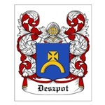 Deszpot Coat of Arms Small Poster