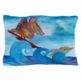 Surfin Buddies Pillow Case