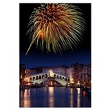 Fireworks display, Venice