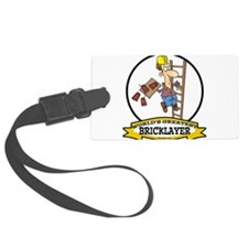 WORLDS GREATEST BRICKLAYER CARTOON.png Luggage Tag