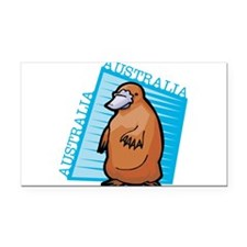 australian platypus.png Rectangle Car Magnet