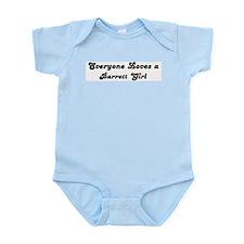Barrett girl Infant Creeper
