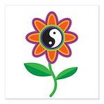 yinyangflower.jpg Square Car Magnet 3