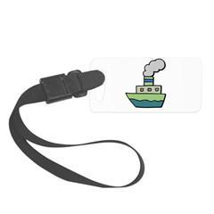 toy boat.psd Small Luggage Tag