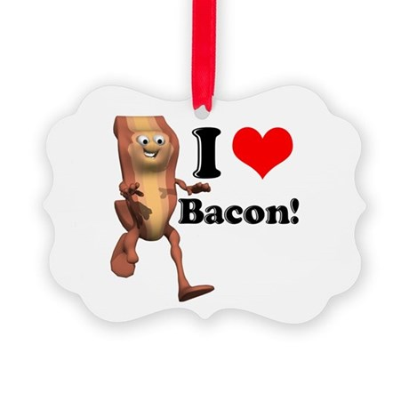 bacon copy.jpg Picture Ornament