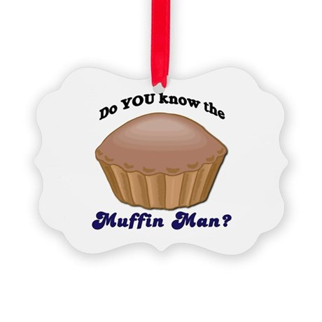 muffinman.psd Picture Ornament