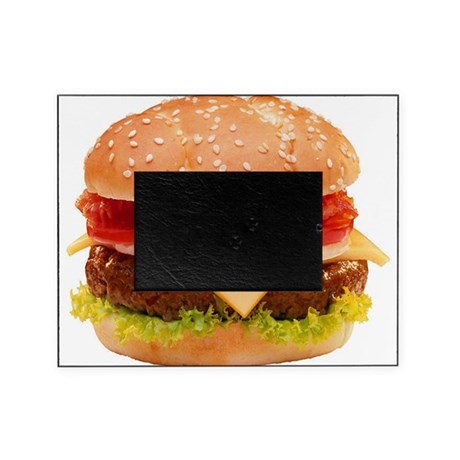 Cheeseburger Picture Frame