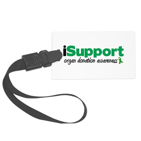 iSupport Transplants Large Luggage Tag