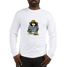 Treasure Hunter Penguin Long Sleeve T-Shirt
