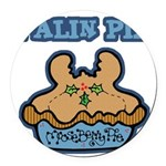 Funny Palin (Moose Berry) Pie.png Round Car Magnet