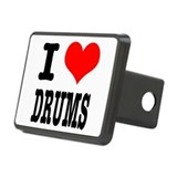 DRUMS.png Rectangular Hitch Cover