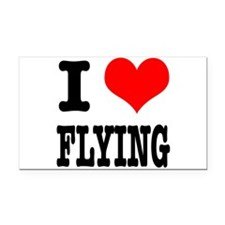 FLYING.png Rectangle Car Magnet