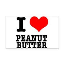 PEANUT BUTTER.png Rectangle Car Magnet