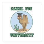camel toe university copy.png Square Car Magnet 3