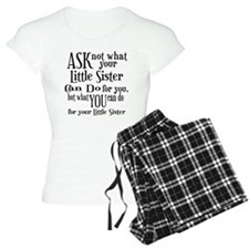Ask Not Little Sister Pajamas