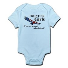 Frontier Girls Motto - Color Infant Bodysuit