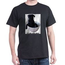 Unique Black pug T-Shirt