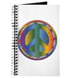 Big Peace Symbol Journal