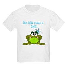 First Birthday Frog Prince T-Shirt