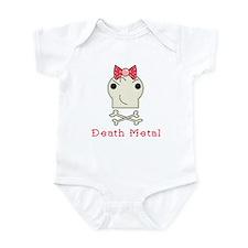 Death Metal Baby Girl Onesie