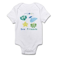 Sea Friends Mobile Onesie for Baby Boys