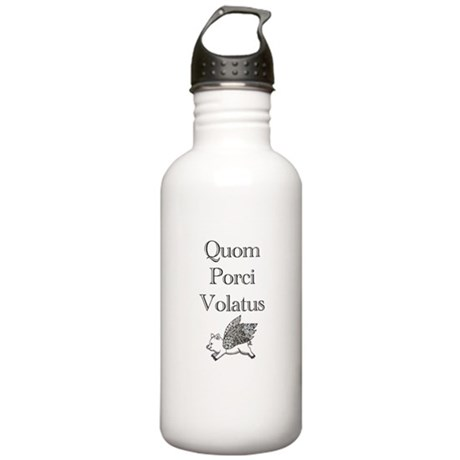 When Pigs Fly Stainless Water Bottle 1.0L