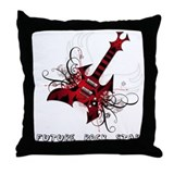Future Rock Star Grunge Guitar Pillow