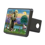 St Francis / Tab Tiger Cat Rectangular Hitch Cover