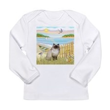 Rowboat / Himalayan Cat Long Sleeve Infant T-Shirt