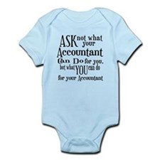 Ask Not Accountant Infant Bodysuit