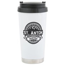 St. Anton Grey Ceramic Travel Mug