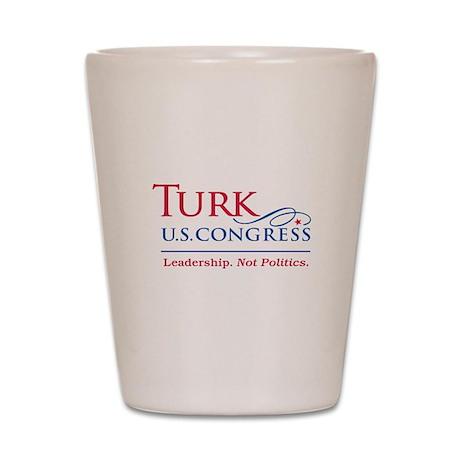 Turk Leadership Shot Glass