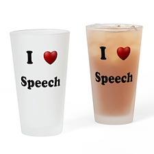 Speech Drinking Glass