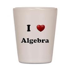 Algrebra Shot Glass
