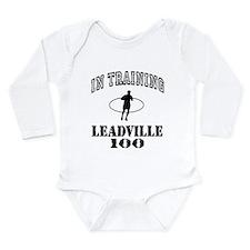 Cute Running marathon Long Sleeve Infant Bodysuit