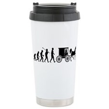 Amish Ceramic Travel Mug