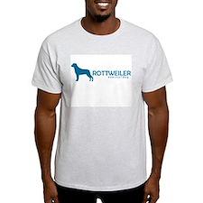 "Rottweiler ""One Cool Dog"" Ash Grey T-Shirt"