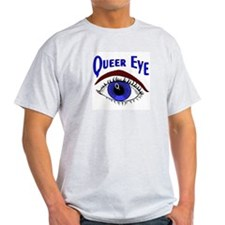 Queer Eye Ash Grey T-Shirt