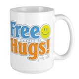 Free Awesome Hugs! Mug