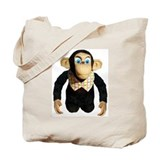 Cute Chimps Tote Bag