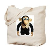 Cute Chimp Tote Bag